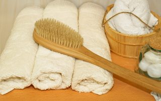 Dry brushing for the body